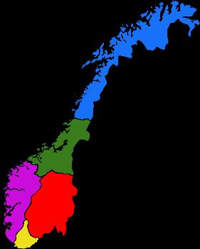 kart østlandet norge Vegan  og vegetarguide for hele Norge: Lokalguider for alle som  kart østlandet norge