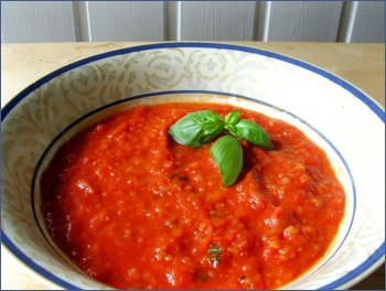 oppskrift tomatsaus