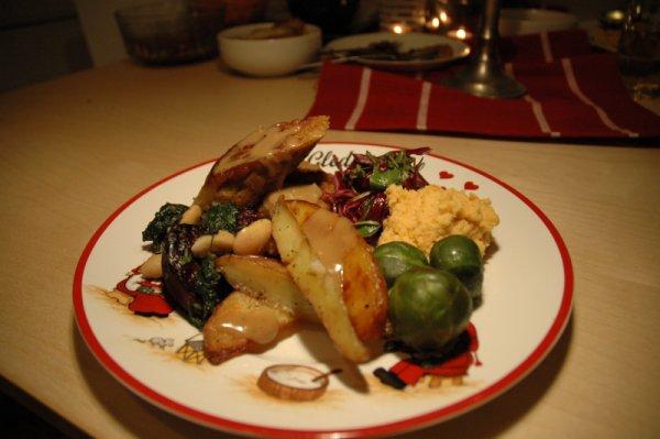 vegetar julemiddag