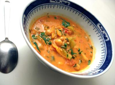 vegansk suppe